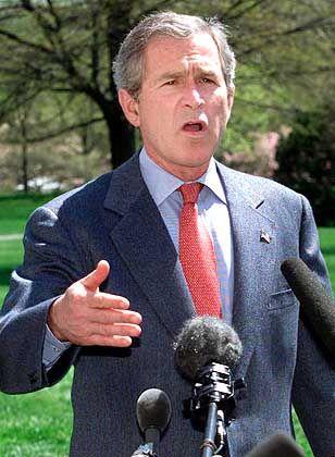 US-Präsident Bush: Nächster Gegner Syrien?