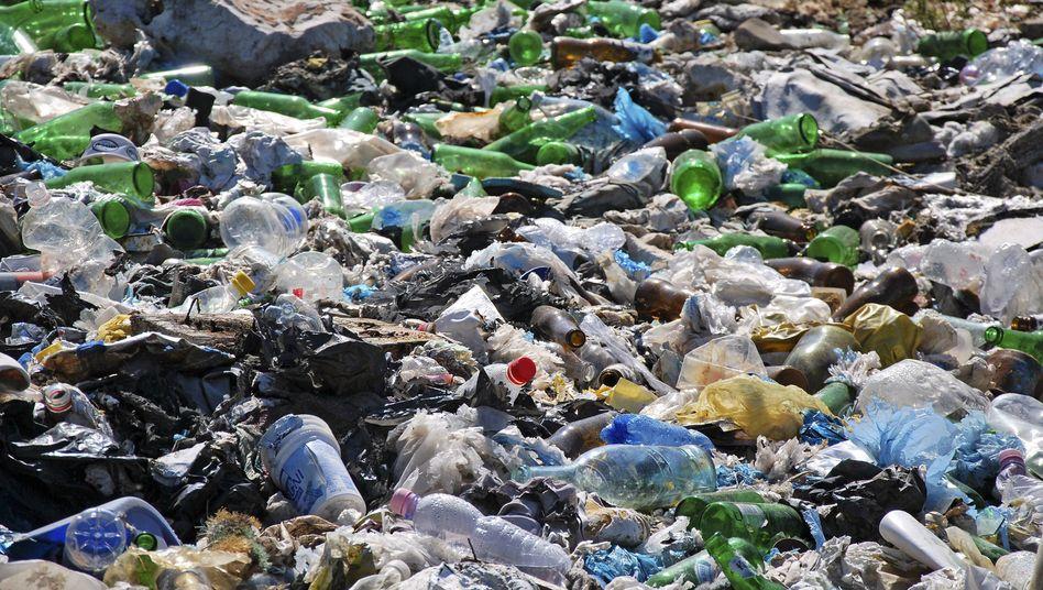 Plastikmüllhalde: Die EU hat das Problem nach Asien entsorgt
