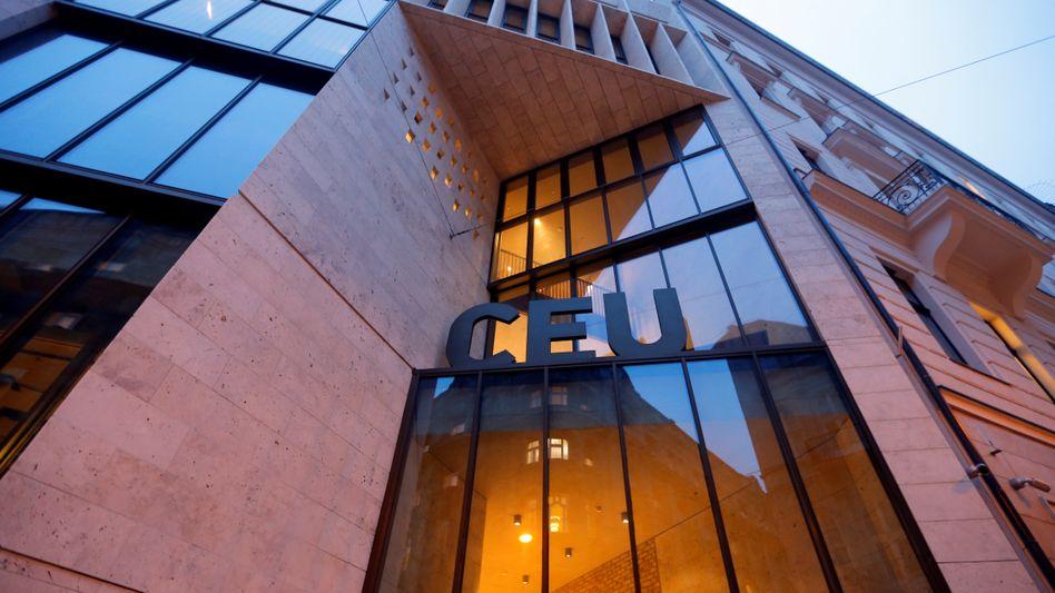 Die Central European University in Budapest