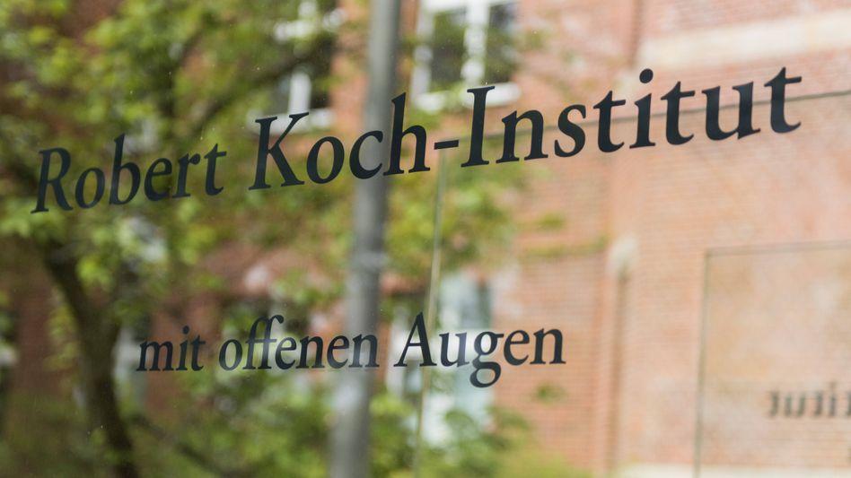 Technische Probleme beim Robert Koch-Institut