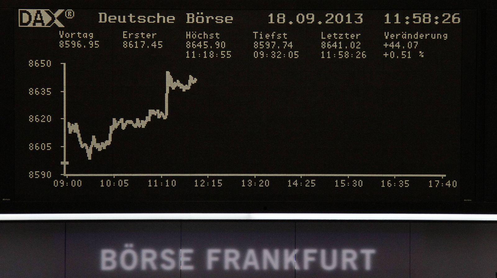 DAX / Börse Frankfurt /