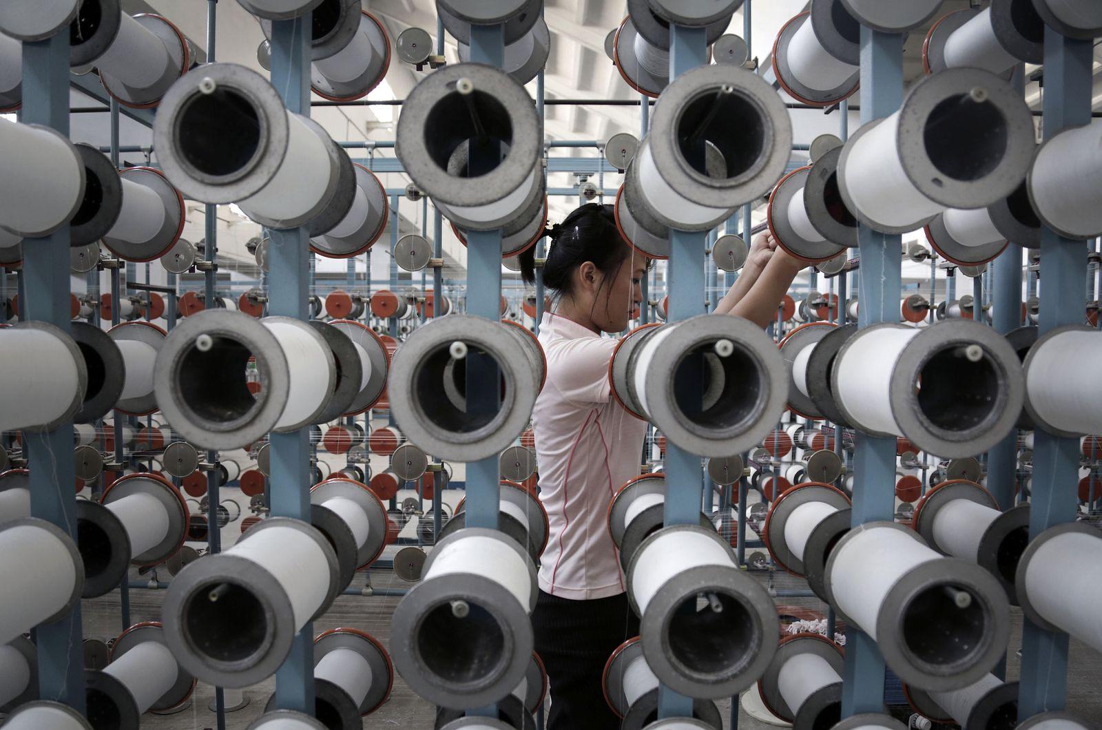 Nordkorea/ Textilfabrik