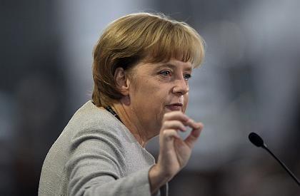 """Kanzlerin Merkel: """"In der Binnenkonjunktur das Richtige tun"""""""