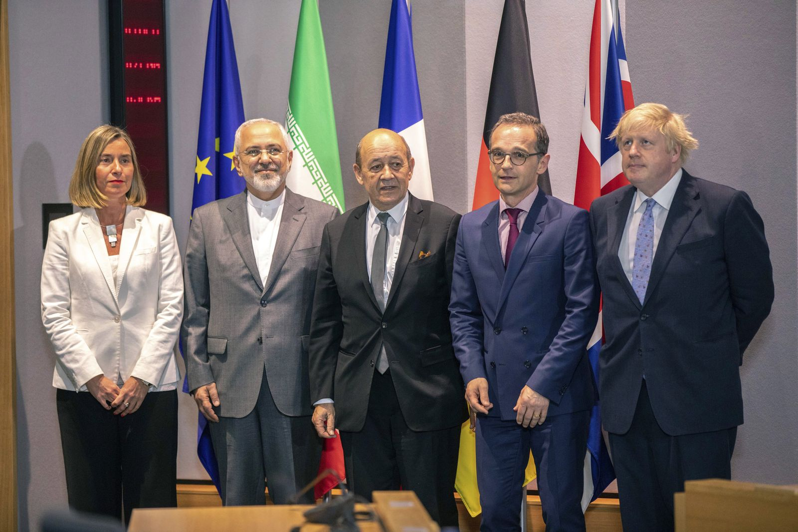 Treffen der europäischen Außenminister in Brüssel