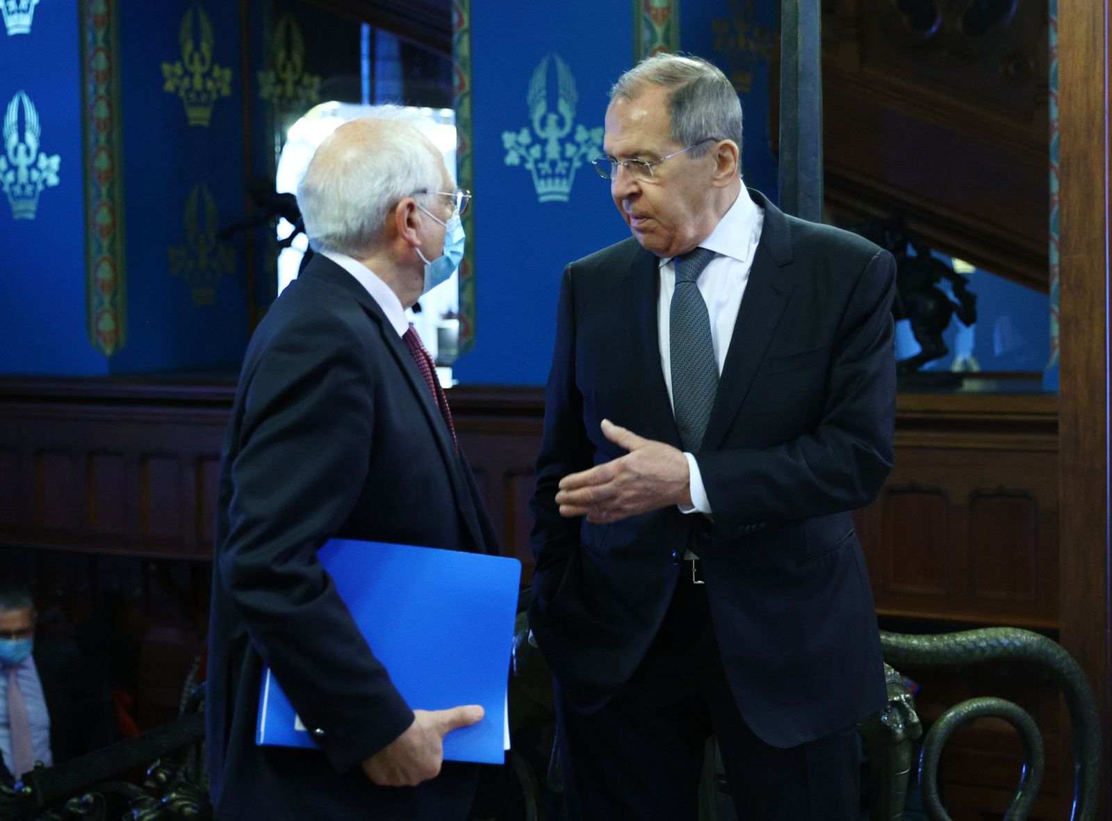 High Representative of the EU for Foreign Affairs and Security Policy, Josep Borrell visits Russia, Moscow, Russian Federation - 05 Feb 2021