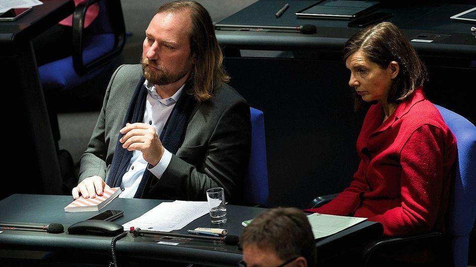 Fraktionschefs Hofreiter, Göring-Eckardt: Die beiden sind angeschlagen