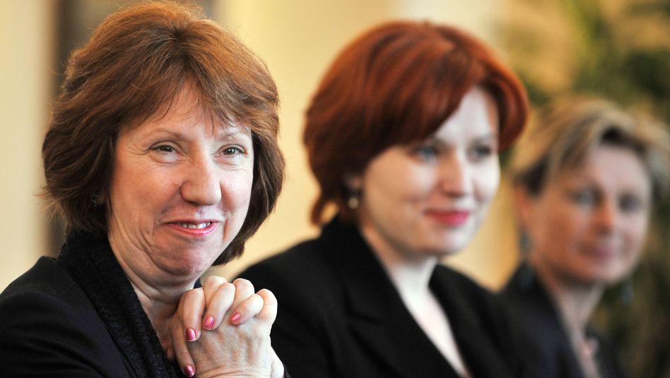 """EU-Außenkommissarin Ashton: """"Schritt in Richtung Europa"""""""