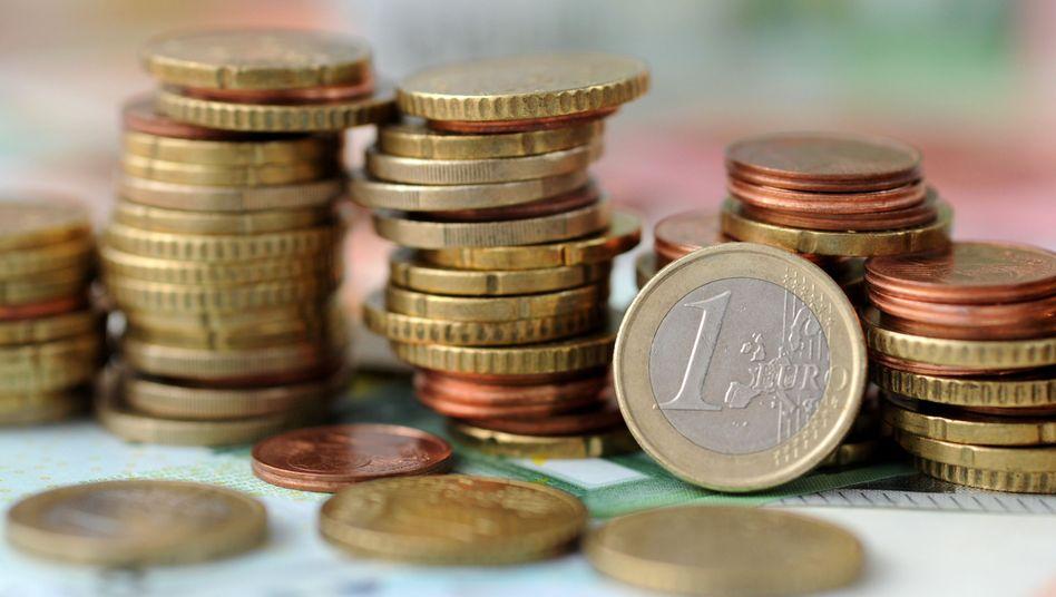 Geldmünzen (Symbolbild)
