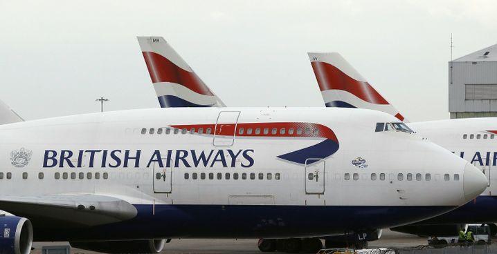 Flughafen Heathrow in London