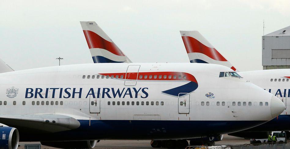 Flugzeuge von British Airways (Archivbild)