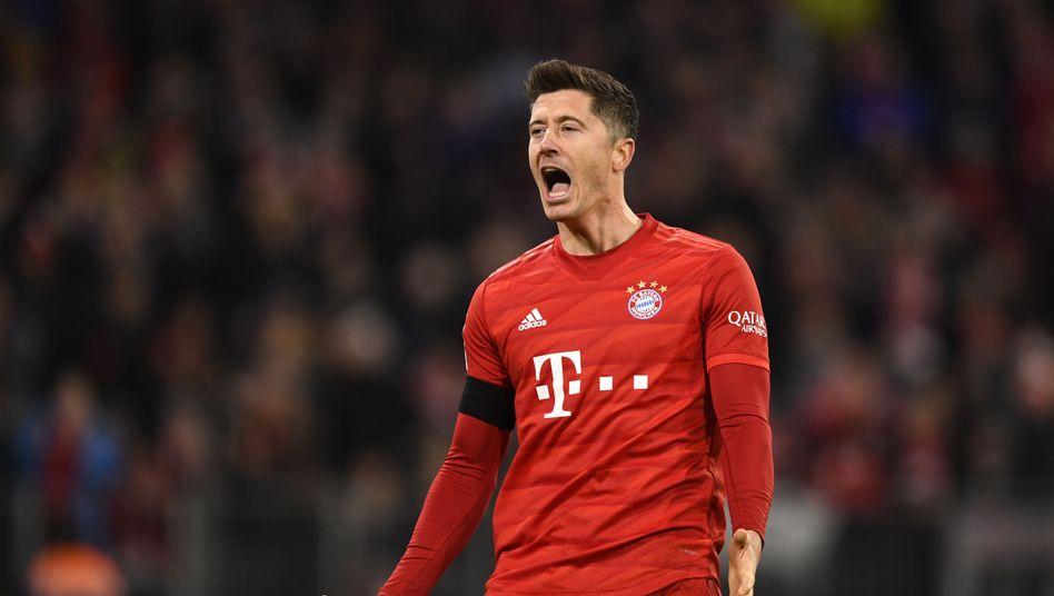 Traf doppelt gegen Paderborn: Robert Lewandowski