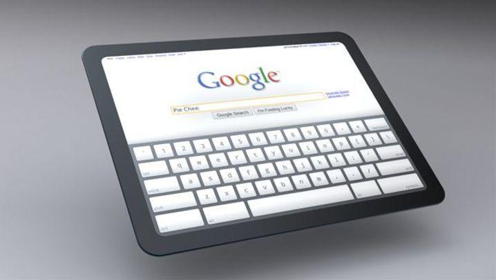 Touchscreen-Computer: So könnte Googles Tablet aussehen