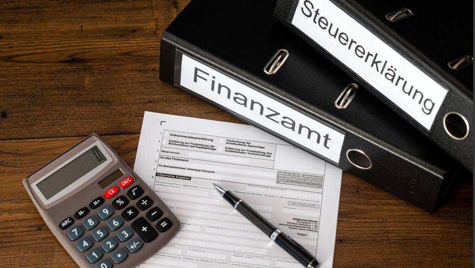 Die erste Steuererklärung lässt sich rasch und leicht erledigen
