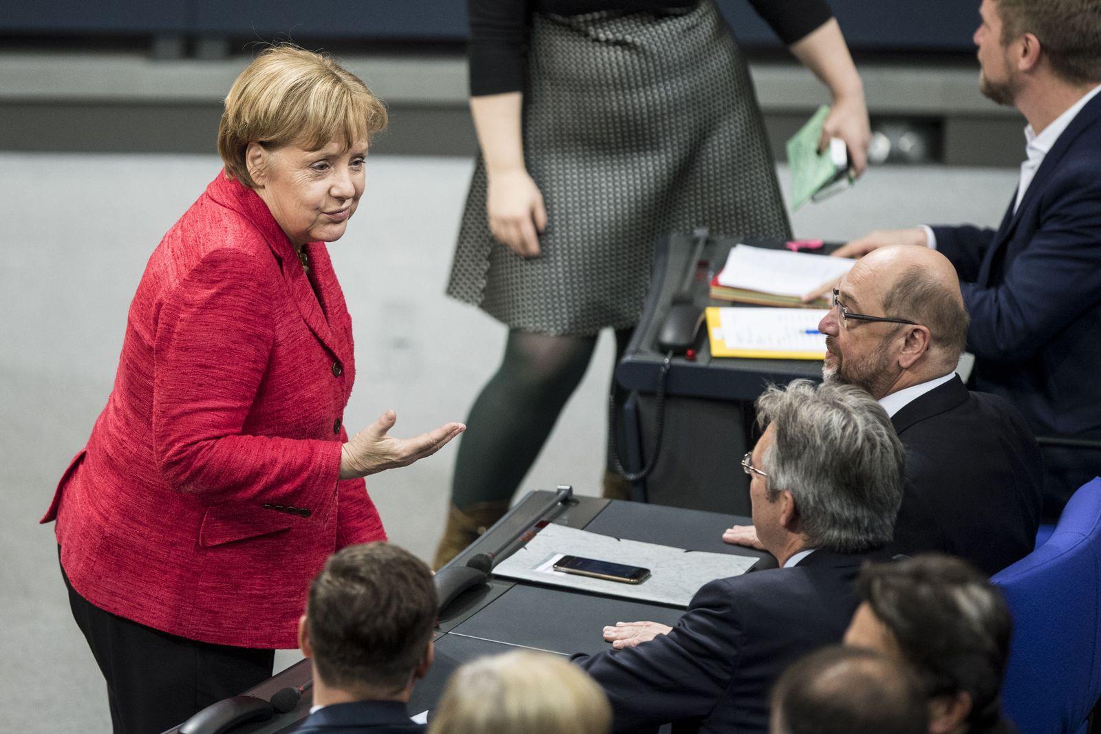 Angela Merkel / Martin Schulz
