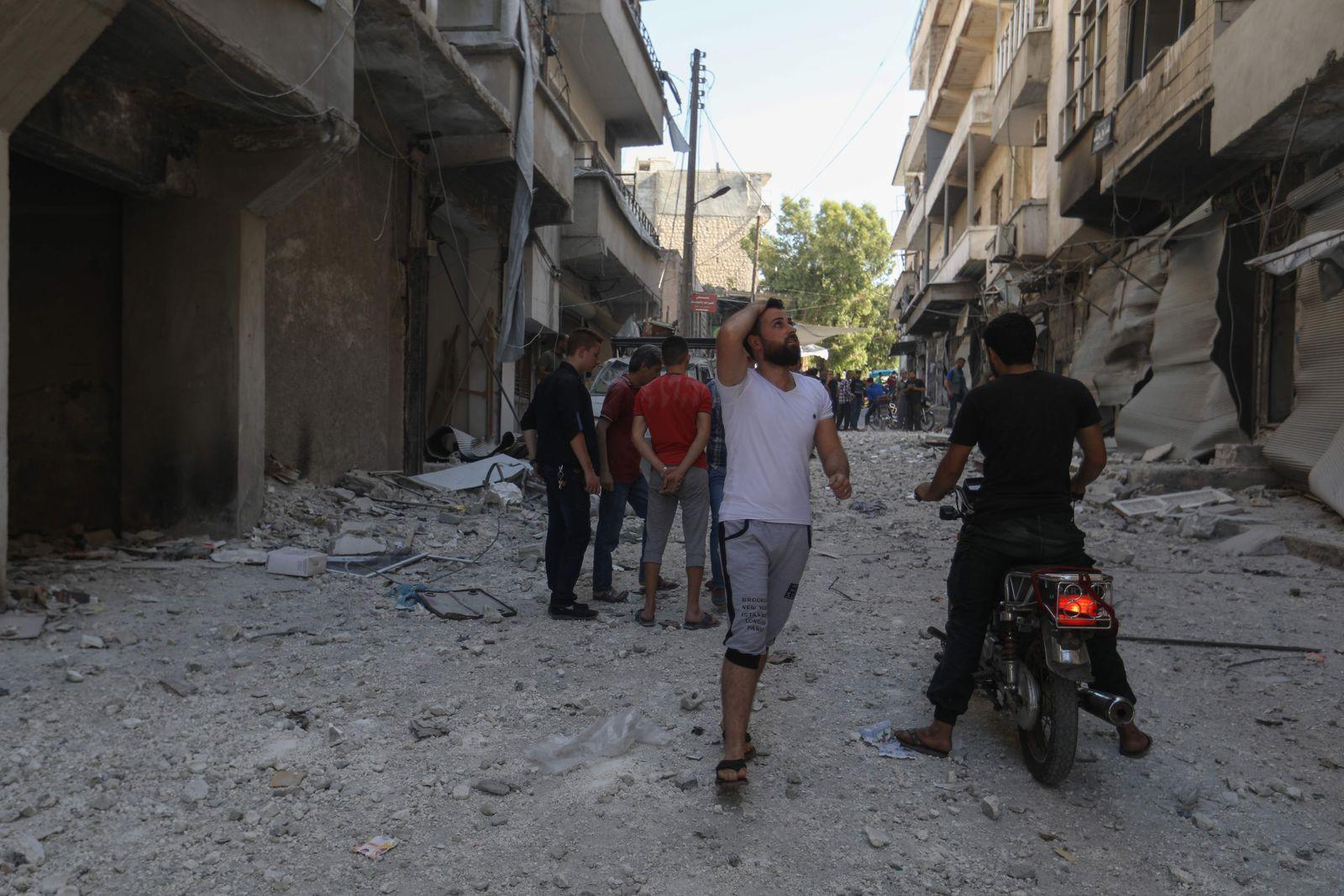 SYRIA-IDLIB-CONFLICT