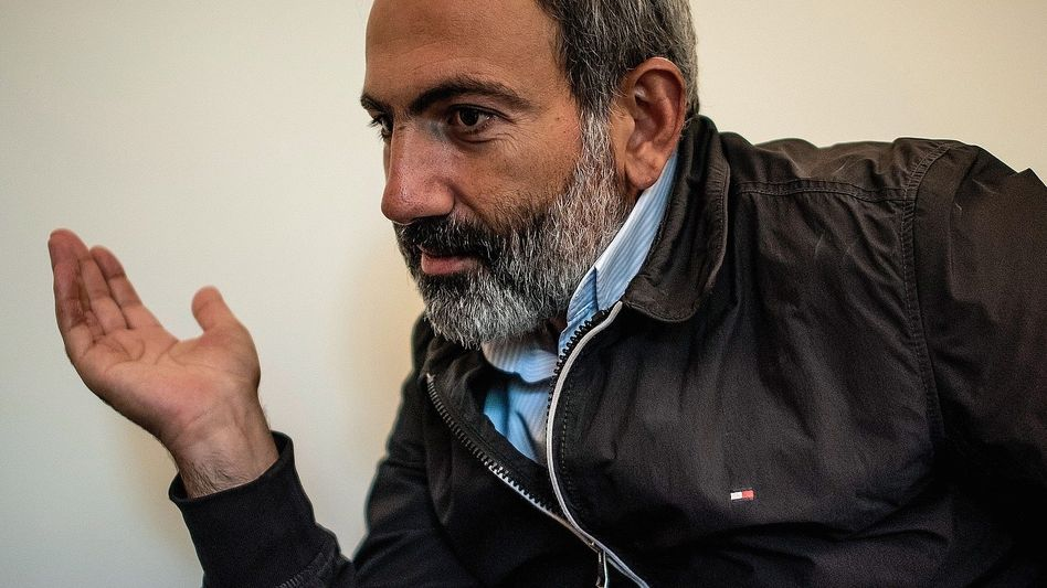 Politiker Paschinjan: »Revolution der Liebe und der Solidarität«