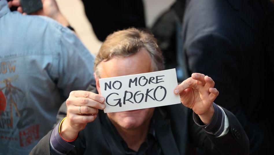 """No more grand coalition."""