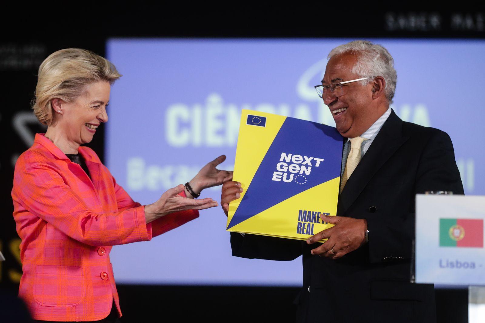President of the European Commission Ursula von der Leyen visits Lisbon