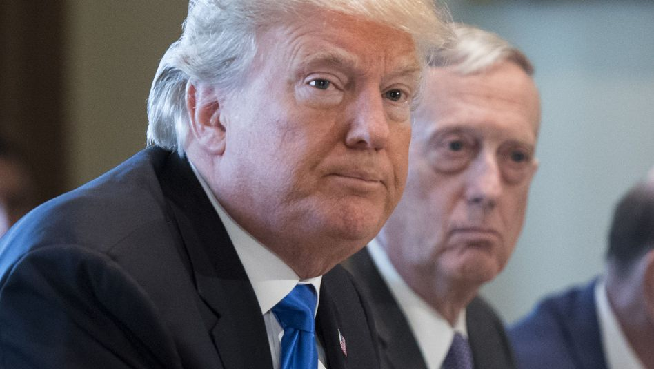 US-Präsident Trump, Verteidigungsminister Mattis