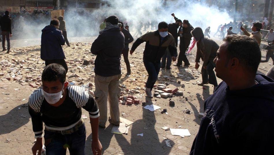 Widerstand gegen Militärrat: Mindestens 20 TotebeiRevolte in Kairo