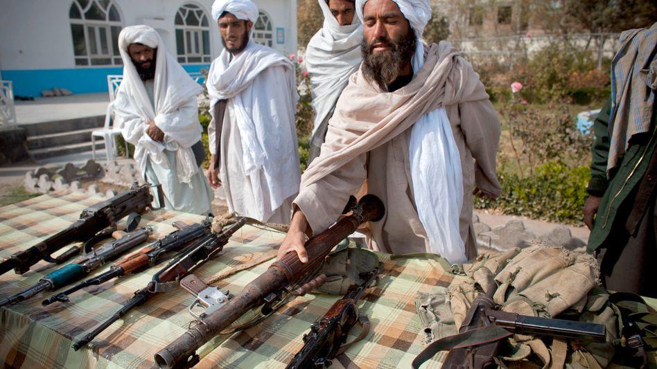 Taliban mit Waffen in Afghanistan: Iran schickte offenbar hochmoderne Raketen