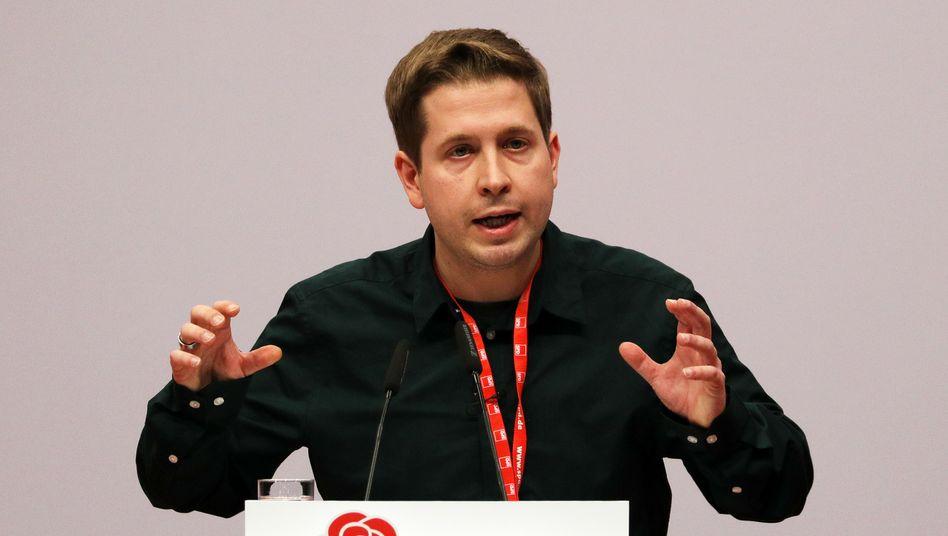 Kevin Kühnert: Zweitschlechtestes Ergebnis bei der Stellvertreterwahl