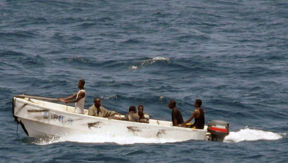 Schnellboot somalischer Piraten (Archivbild): Fischer fangen wieder mehr