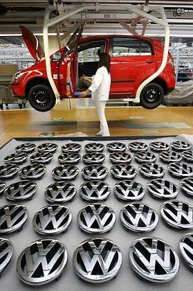 Volkswagen-Produktion in Wolfsburg: Dieses Jahr wächst die Branche laut McKinsey um höchstens 1,3 Prozent