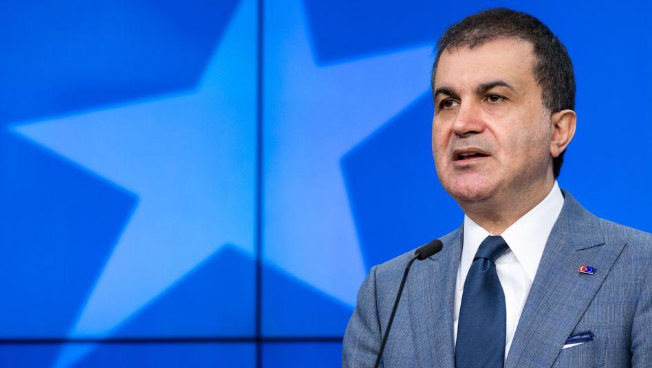 Türkischer EU-Minister Ömer Celik