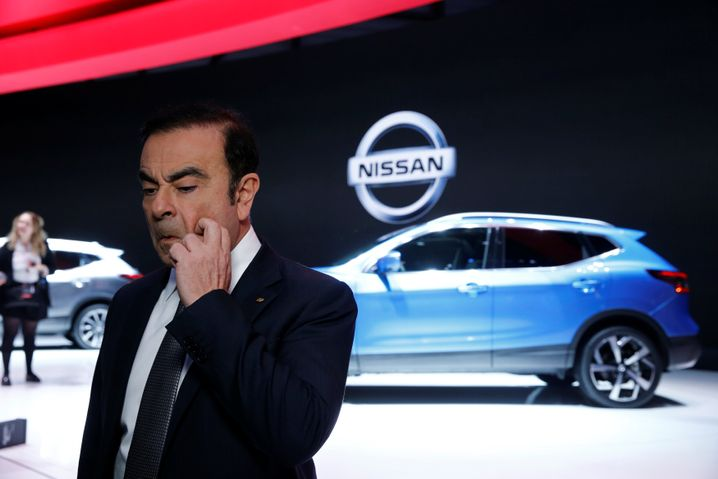 Carlos Ghosn, Chef der Renault-Nissan Allianz