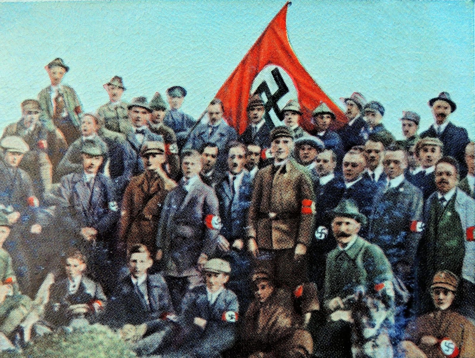 Nazi march from Coburg 1922