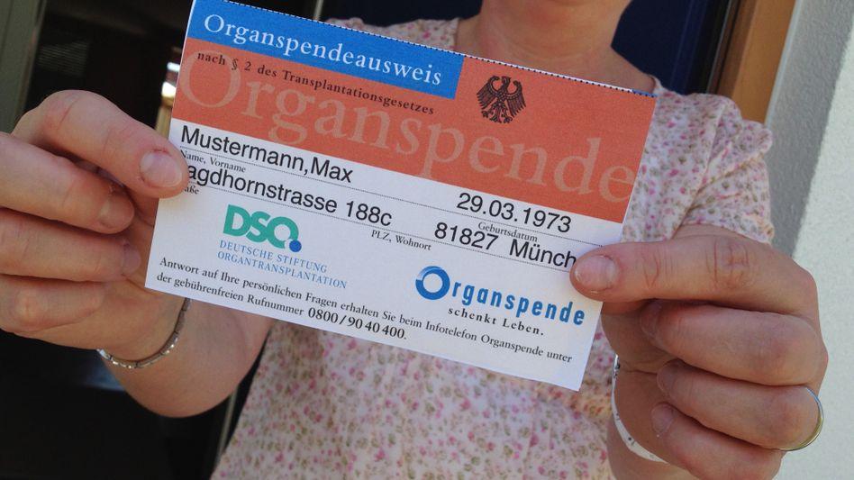 Der Ausgang der Abstimmung ist völlig offen: Gesundheitsminister Spahn (CDU) will per Gesetz mehr Menschen zu Organspendern machen
