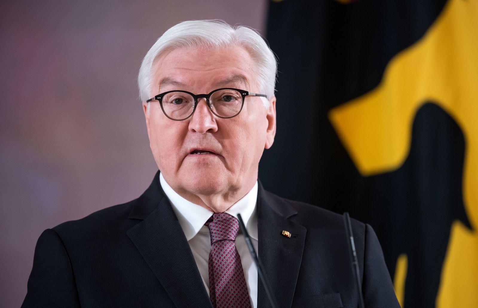 Pressestatement von Bundespräsident Steinmeier