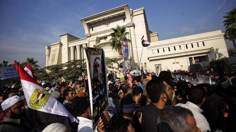 Machtkampf in Ägypten: Blockade bremst Verfassungsgericht