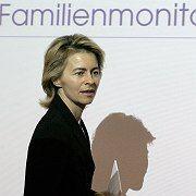 Current family minister, Ursula von der Leyen: The SPD's Schwesig will be an antidote for the popular CDU politician.