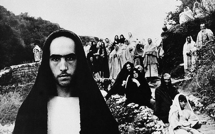 """Szene aus Pasolinis """"Das Evangelium nach Matthäus"""""""