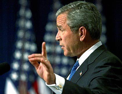 US-Präsident Bush rief zum Kampf gegen Antisemitismus auf