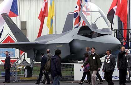 Modell des Joint Strike Fighters von Lockheed Martin: Der neue Kampfjet ist derzeit eines der wichtigsten Rüstungsprojekte der USA