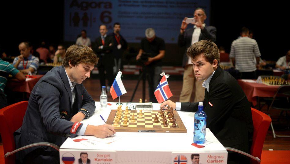 Schach Wm 2016 Magnus Carlsen Und Sergei Karjakin Im Vergleich Der Spiegel