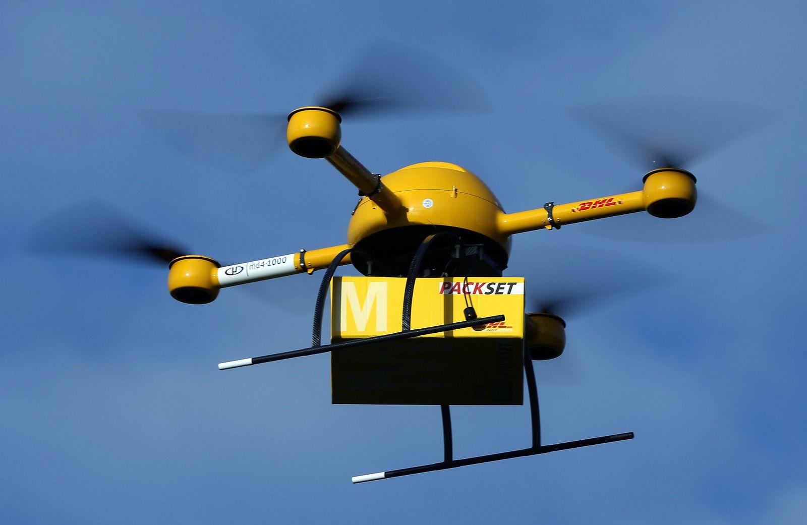 Deutsche Post / Paket-Drohne