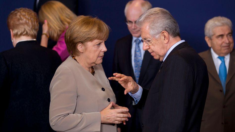 Euro-Gipfel: Italien und Spanien gewinnen im Verhandlungspoker
