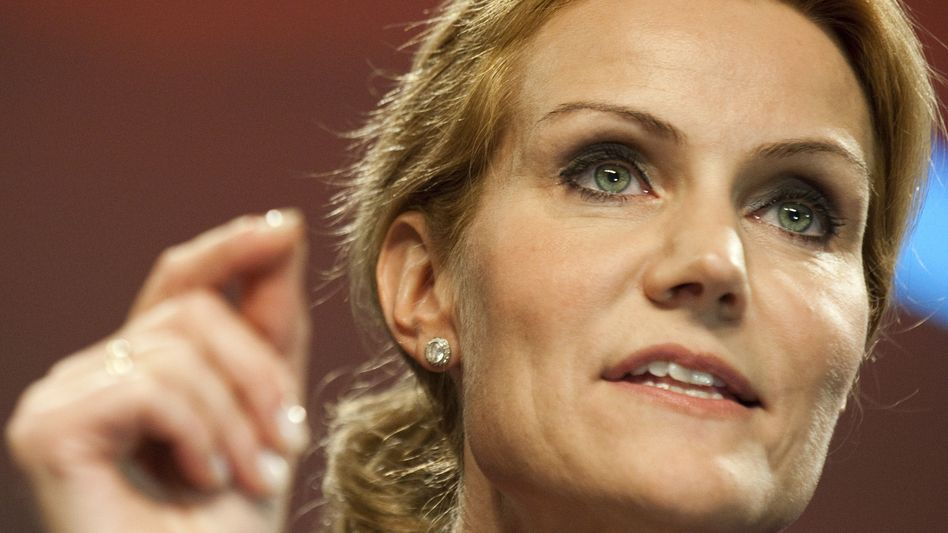 Helle Thorning-Schmidt's Social Democrats will lead after a decade in opposition.