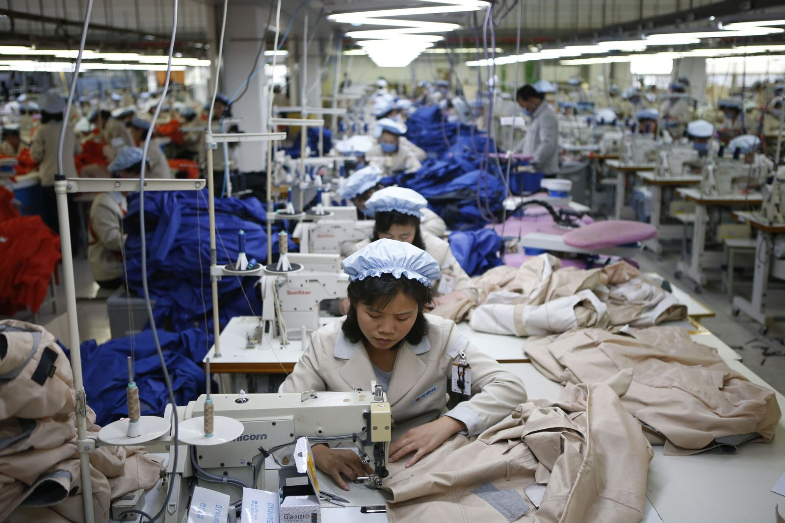 Nordkorea Arbeiter