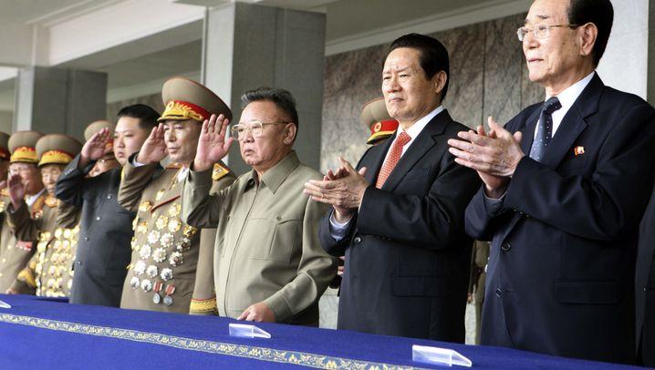 Der junge General: Kim Jong Un bei der Militärparade