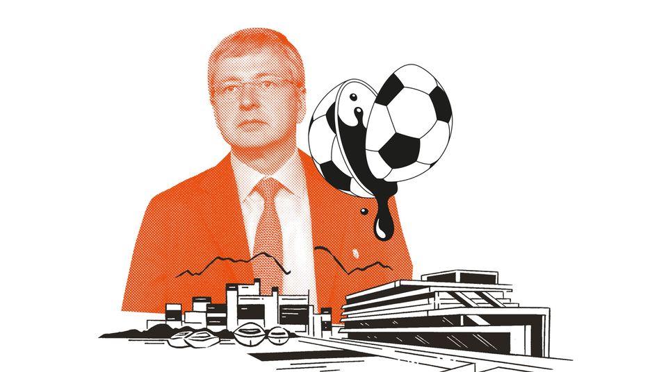 Dmitry Rybolovlev of Russia, President of AS Monaco Football Club