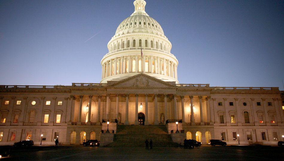 Kapitol in Washington: Druck zur Einigung auf Kongress steigt