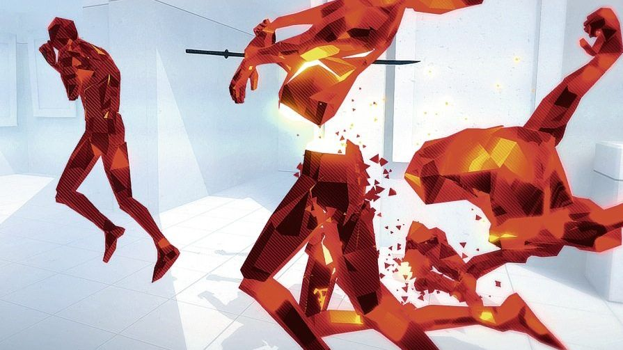 Szene aus »Superhot«