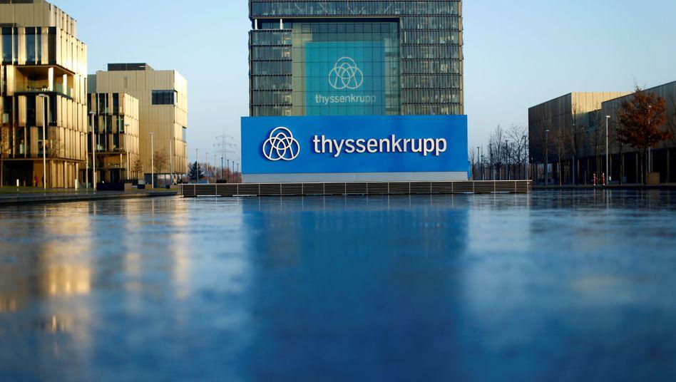 Firmenzentrale von Thyssenkrupp in Essen