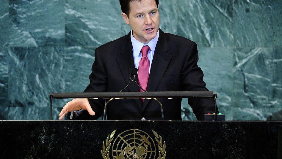 Nick Clegg: Keine Aussage zum Vetorecht für neue Mitglieder