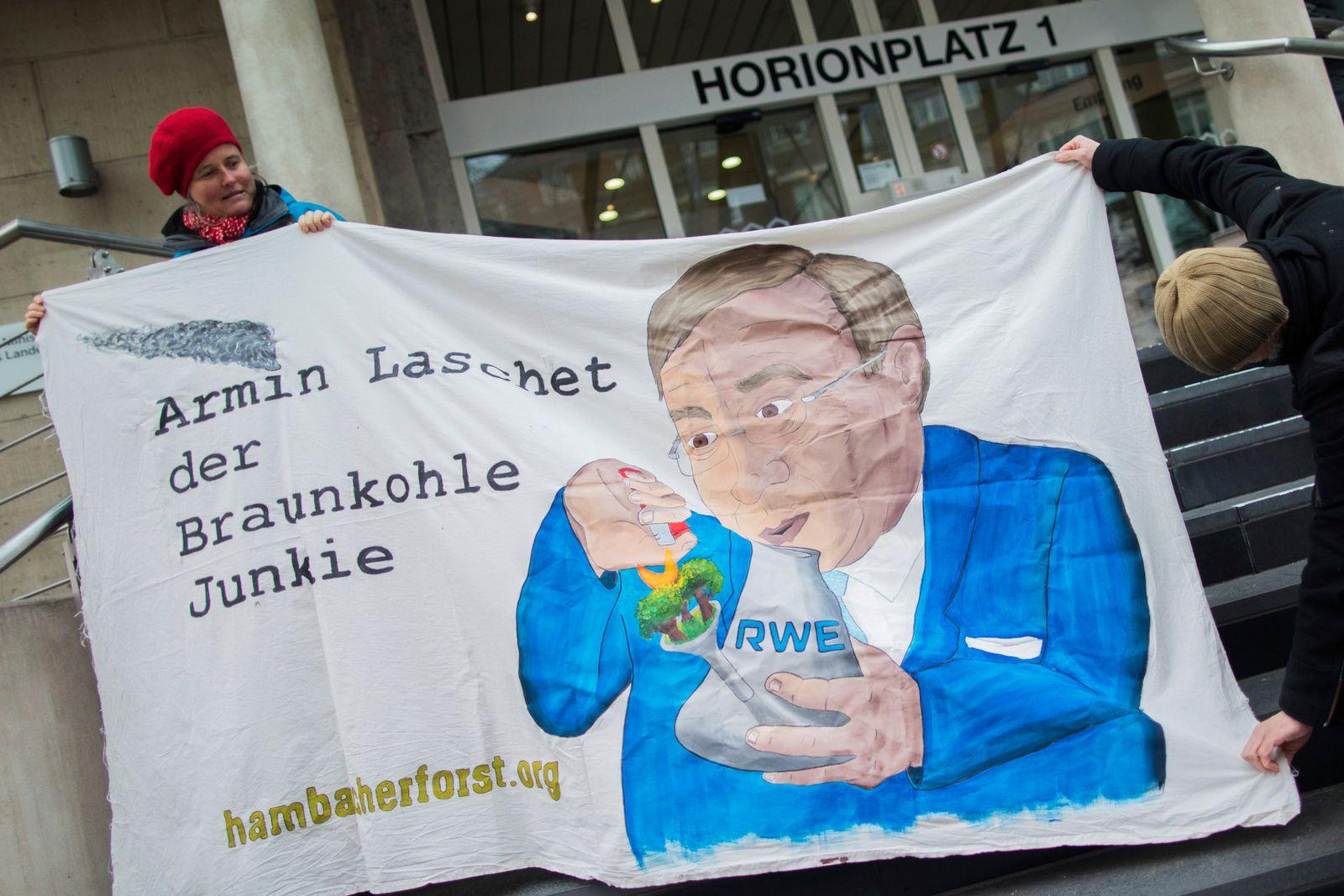 Protest gegen Transport von Brennelementen
